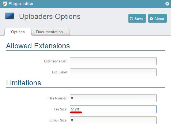 ajaxplorer-upload-size-increase-4