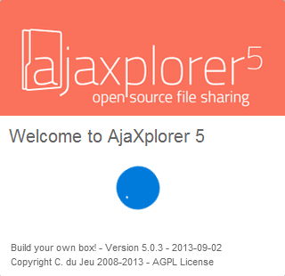 AjaXplorer file sharing platform